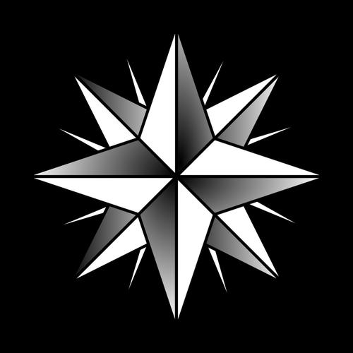 500x500 Compass Rose Vector Illustration Public Domain Vectors