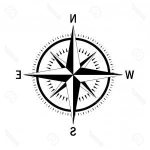 300x300 Navigation Compass Wind Rose Vector Illustration Sohadacouri