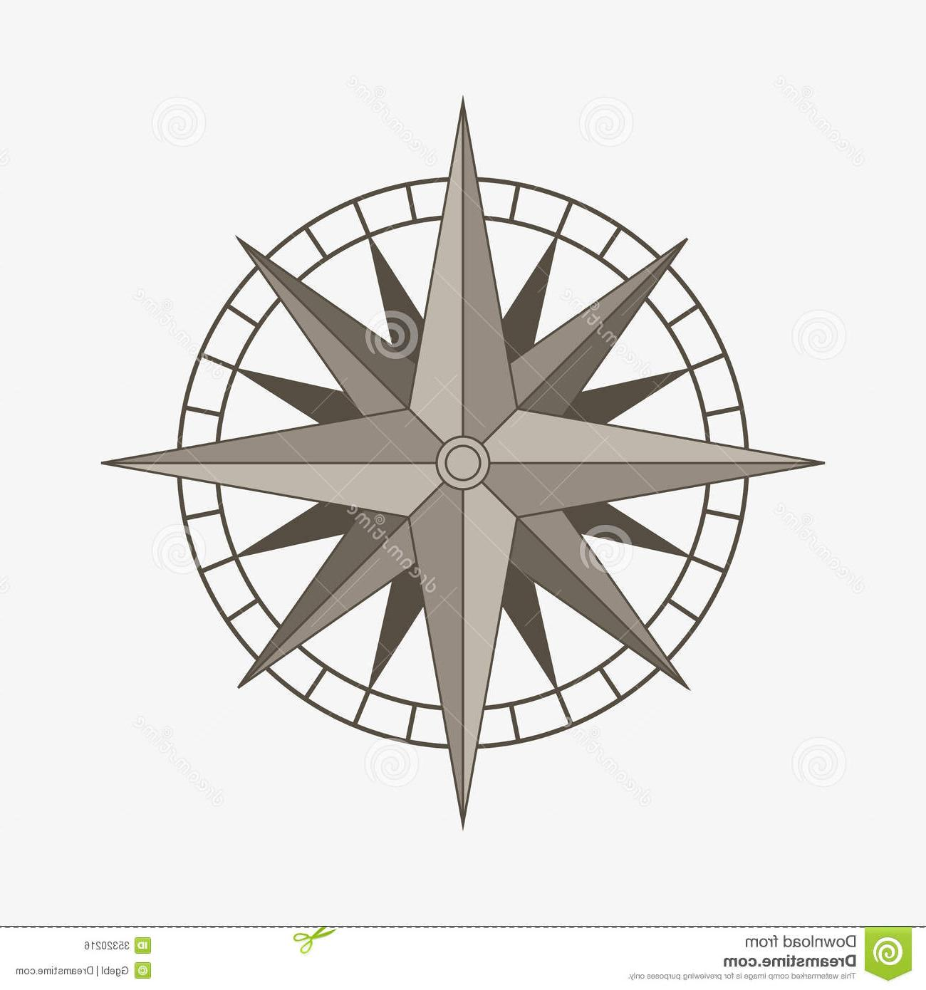 1300x1390 Best Compass Rose Designs Vector Drawing Free Vector Art, Images