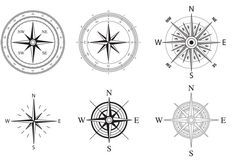 236x165 Wind And Nautical Compass Rose Vectors