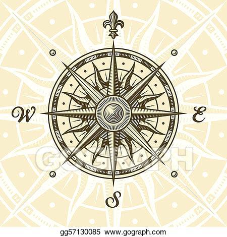 450x470 Compass Artwork Compass Vector Rose Free Vector Art At Compass