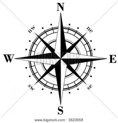 236x246 Free Compass Vector Image Printsamppatternsamprepeats