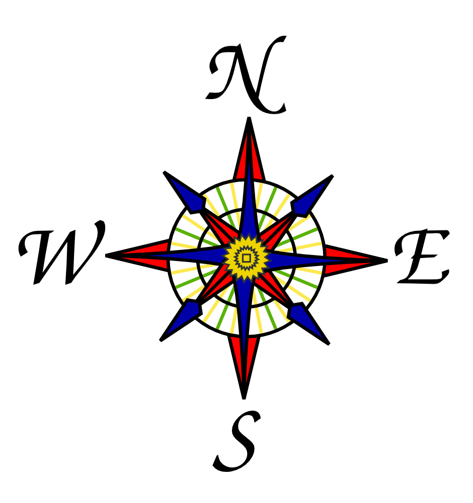 940x1000 Icon Compass Rose Download Free Vectors