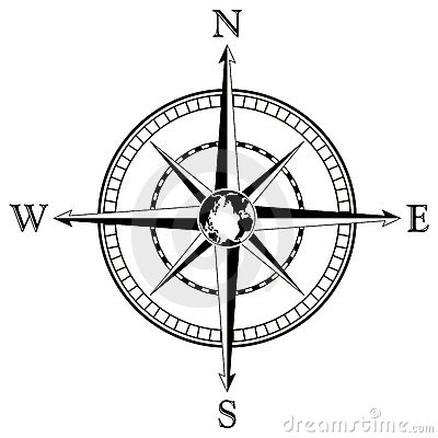 400x400 Collection Of Compass Rose Clipart Free High Quality, Free