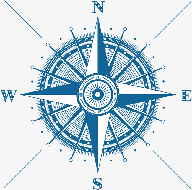 650x642 Blue Compass Vector, Blue, Compass, Practical Png And Vector For