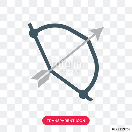500x500 Bow Vector Icon Isolated On Transparent Background, Bow Logo