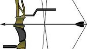 280x158 Compound Bow And Arrow Clipart All About Clipart