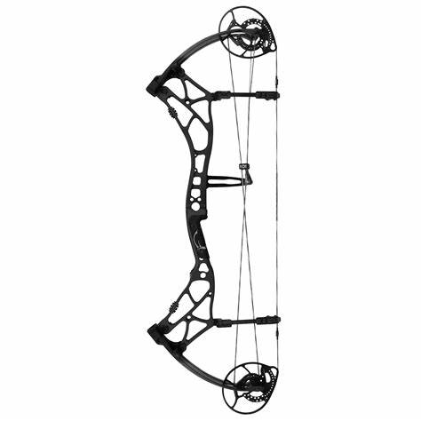 474x474 Compound Bow Vector. Compound Archery Silhouette By