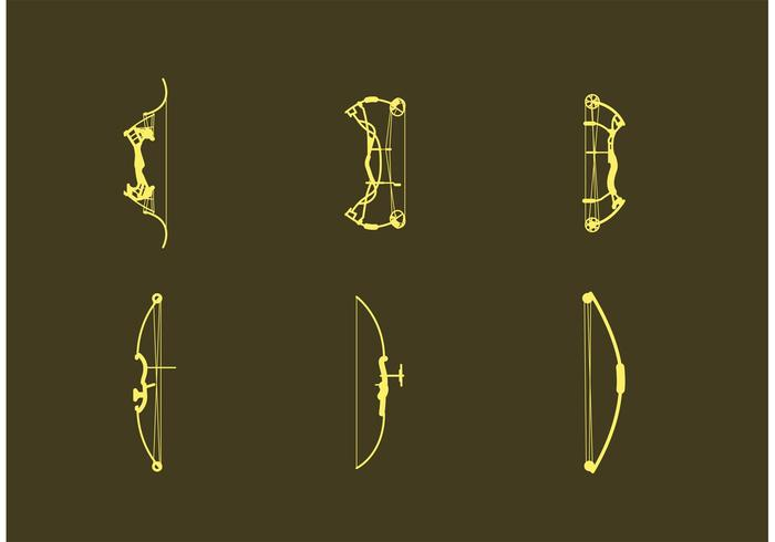 700x490 Compound Bow Vectors On Brown