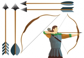 285x200 Compound Bow Free Vector Graphic Art Free Download (Found 1,216