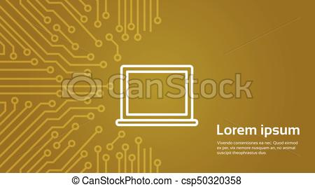 450x267 Laptop Computer Icon Over Computer Chip Moterboard Background