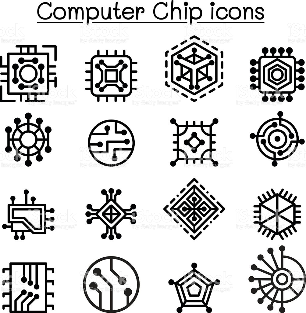 1004x1024 Chips Clipart Computer Chip