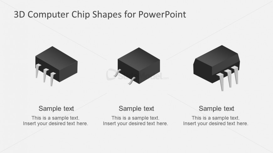 870x489 Computer Chip Vector For Powerpoint