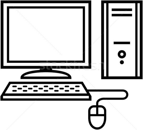 600x547 Home Computer Icon