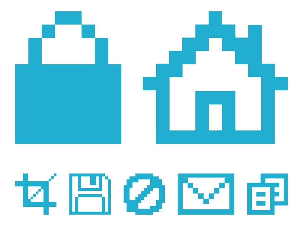 1024x765 Pixelated Computer Icons Vector Art Amp Graphics