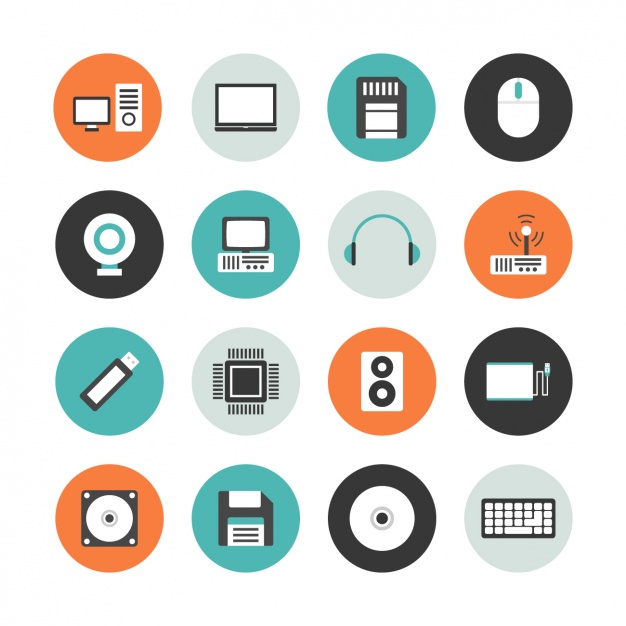 626x626 Computer Icon Collection Vector Free Download