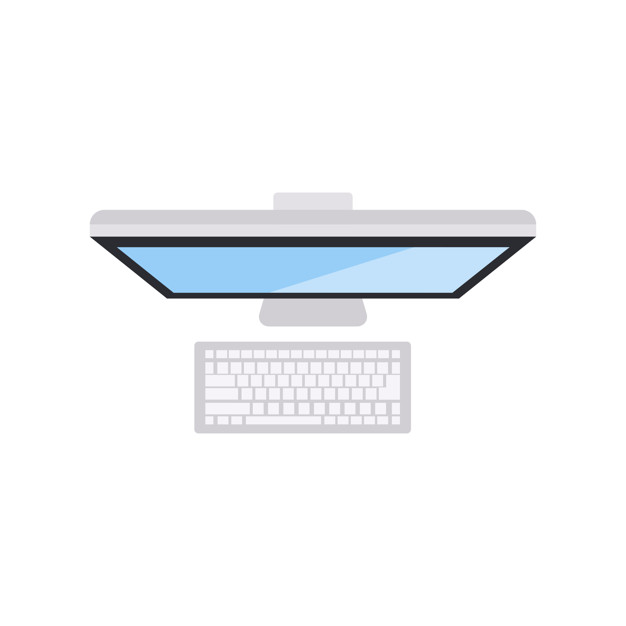 626x626 Illustration Of Computer Icon Vector Free Download