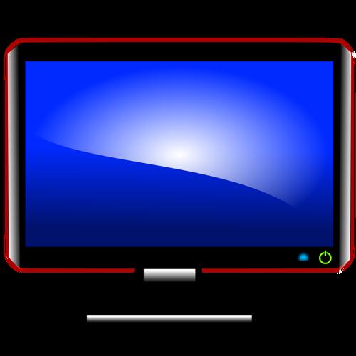 500x500 Computer Monitor Vector Image Public Domain Vectors