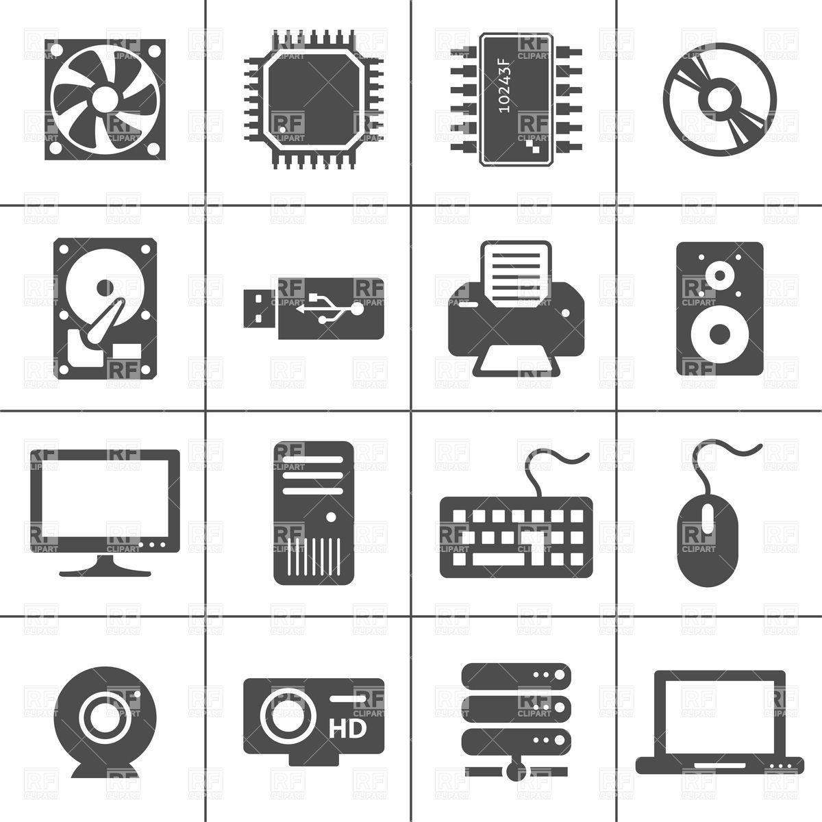 1200x1200 Computer Hardware Icons