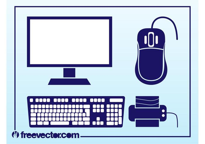 700x490 Free Computer Mouse Vector
