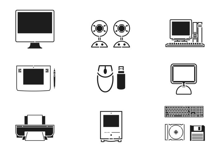 700x490 Technology And Computer Vector Pack