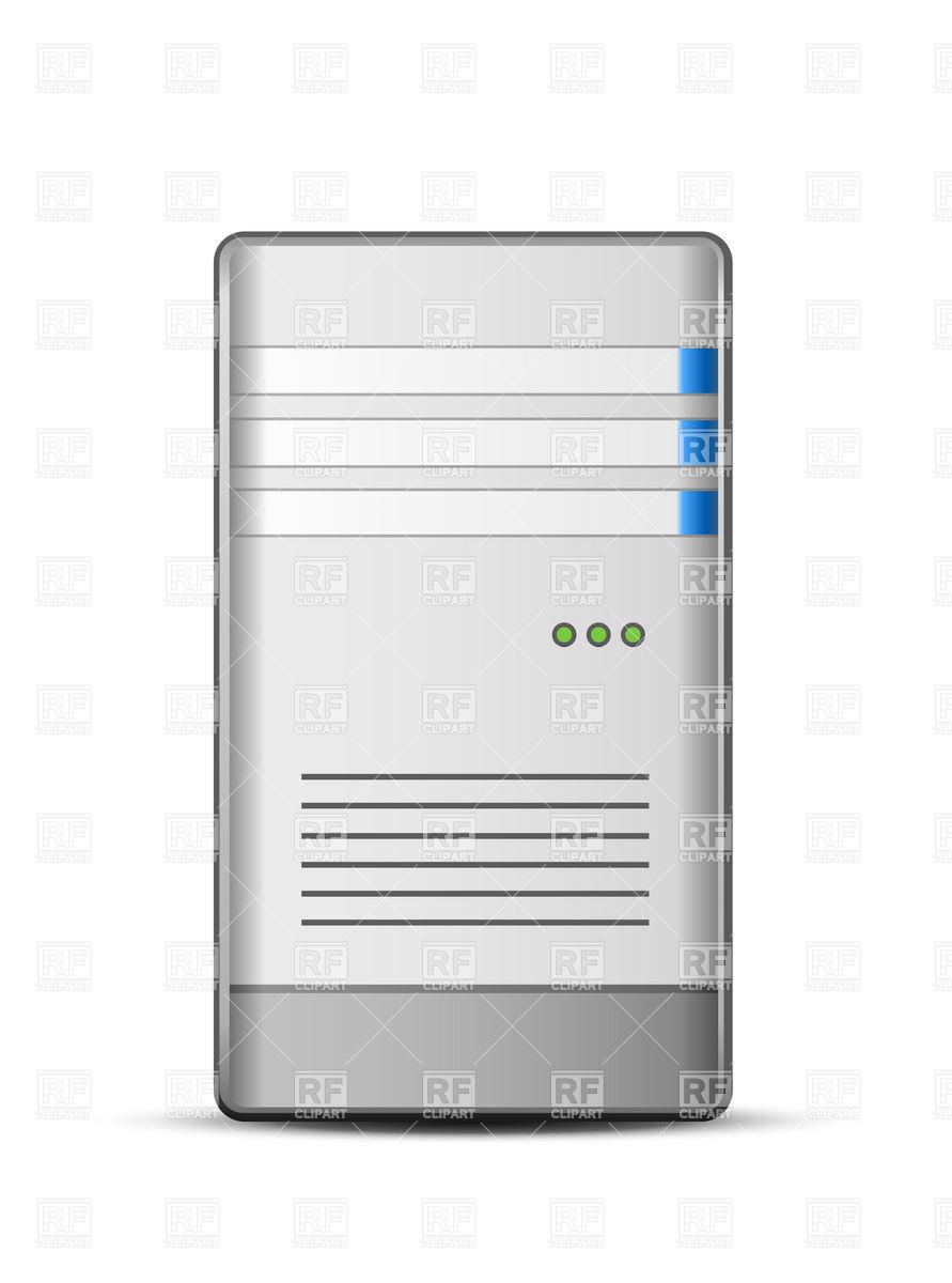 891x1200 Computer Server Icon Vector Image Vector Artwork Of Technology