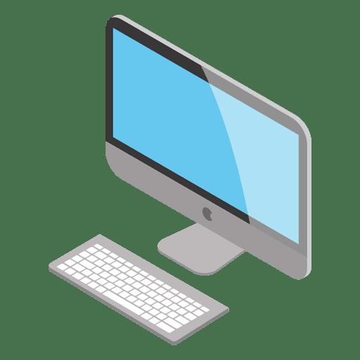 512x512 Isometric Mac Computer