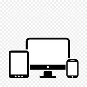 300x300 Monitor Keyboard And Mouse Desktop Computer Vector Shopatcloth