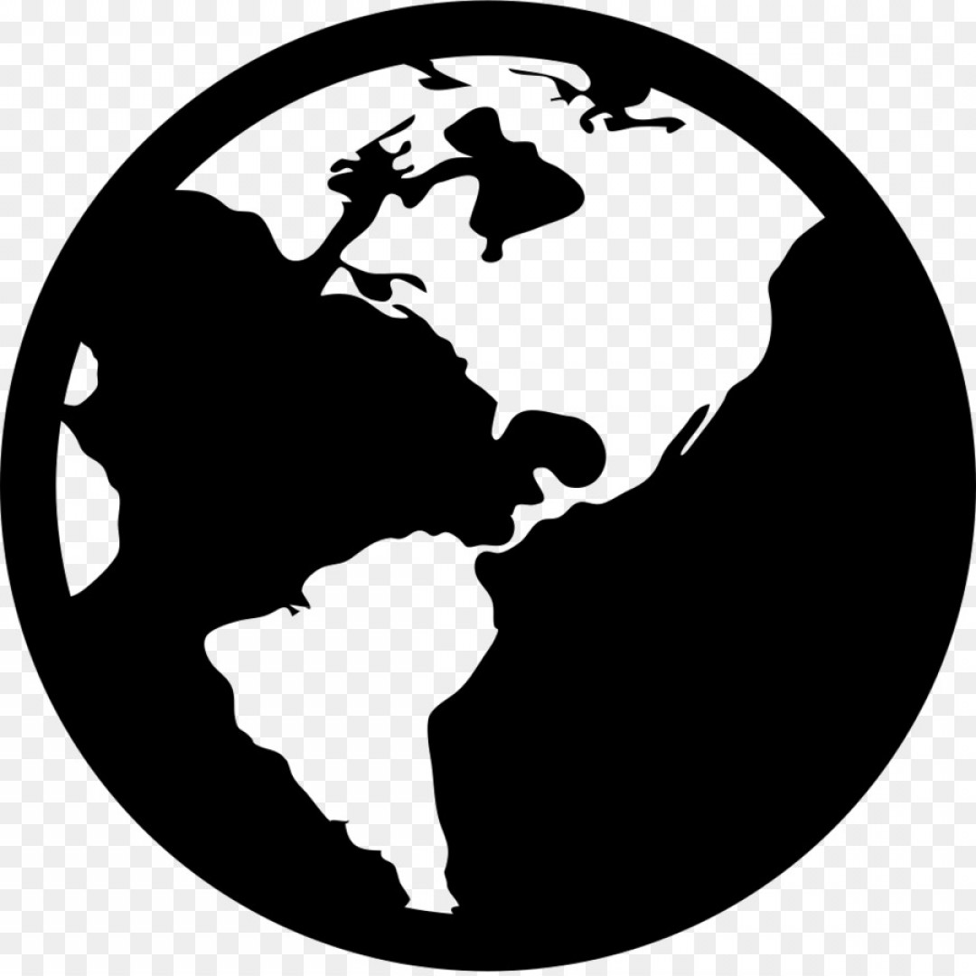 1080x1080 Png World Map Globe Computer Icons Category Vector Arenawp