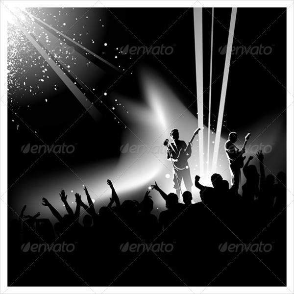 Concert Stage Vector