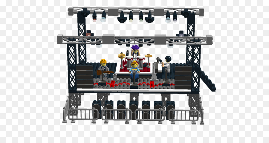 900x480 Lego Friends Concert Stage Lighting Lego Ideas