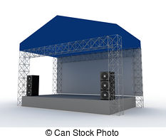 233x194 Outdoor Concert Stage Clipart And Stock Illustrations. 202 Outdoor