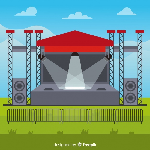 626x626 Stage Concert Vectors, Photos And Psd Files Free Download