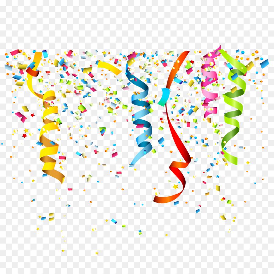 900x900 Party Confetti Birthday Clip Art