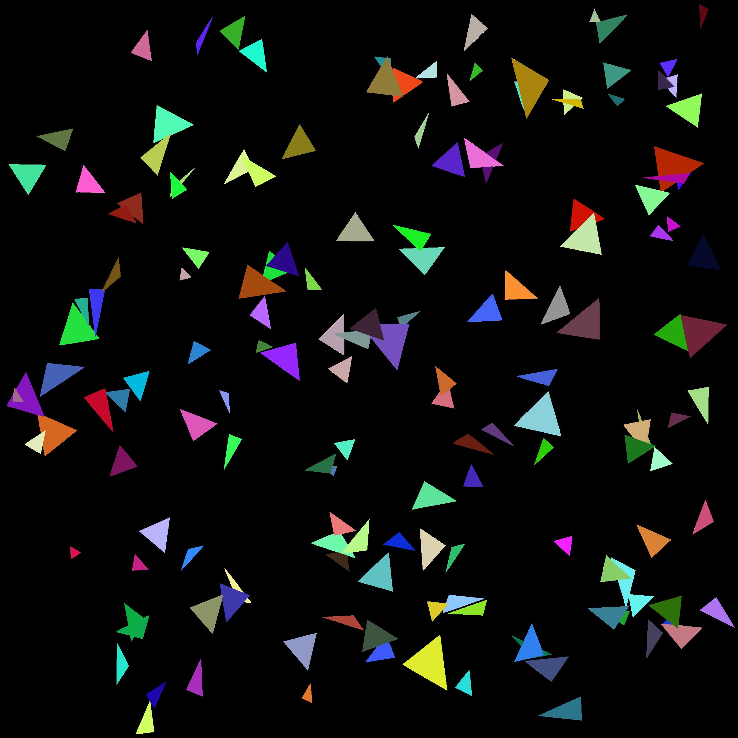 Confetti Vector Free