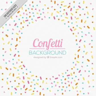 338x338 Collection Of Free Confetti Background Clipart High Quality
