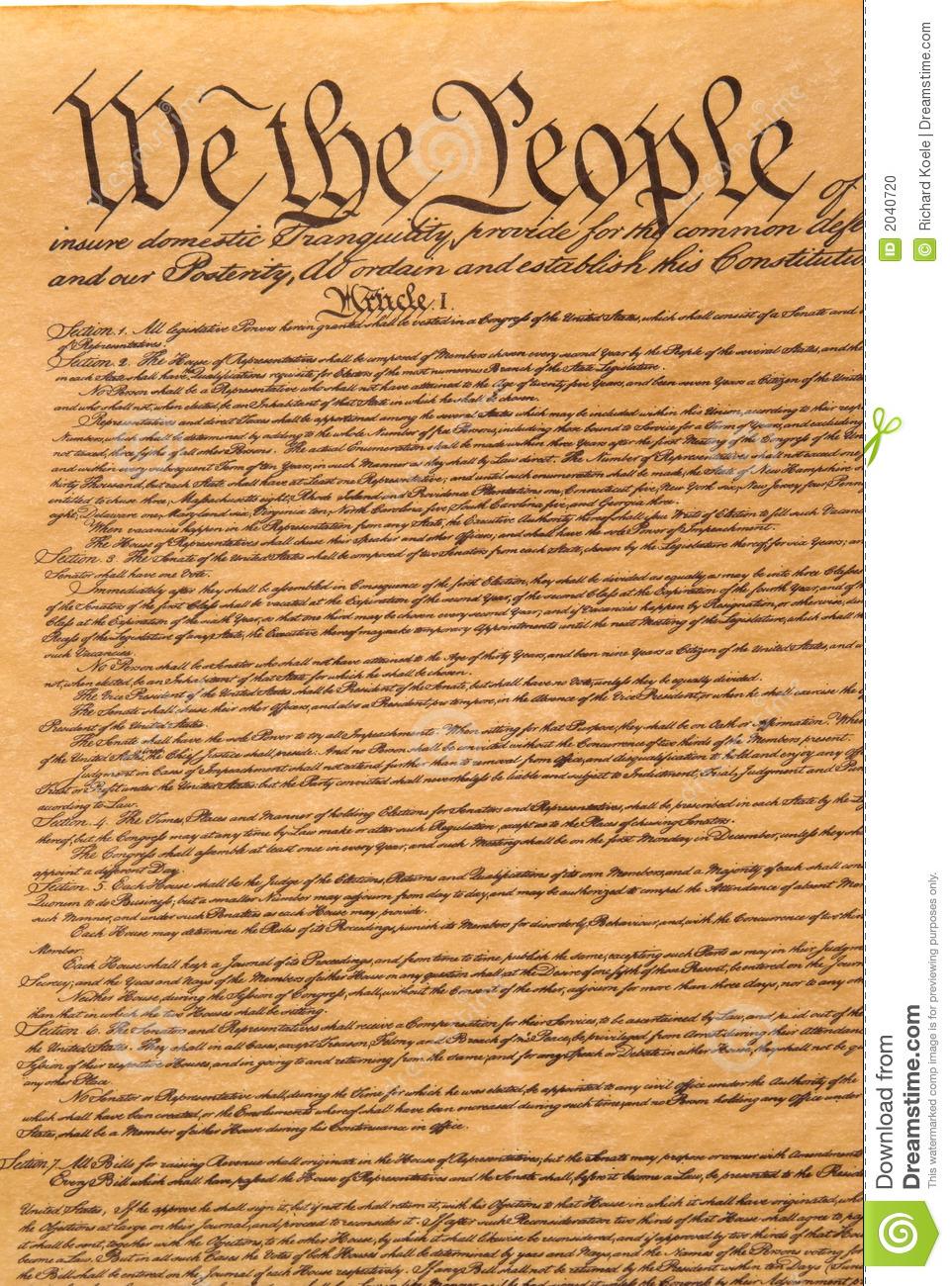 Constitution Vector