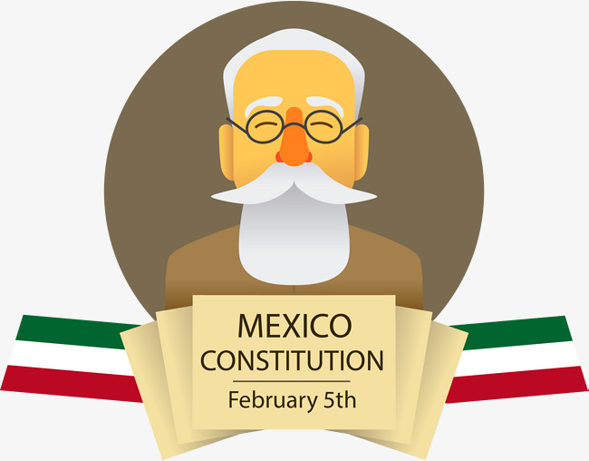 650x508 Vector Hand Painted Mexican Constitution, Vector, Hand Painted