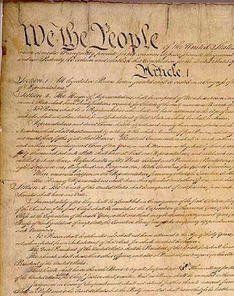 811x1024 Banner Freeuse Stock Constitution United States