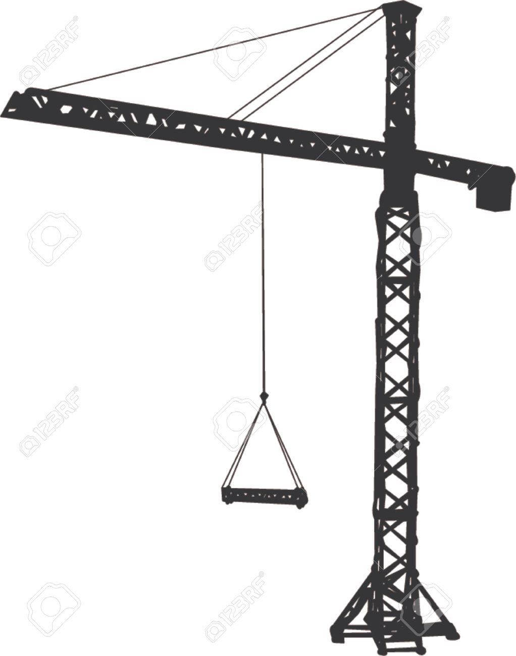 1022x1300 Tower Crane Clipart