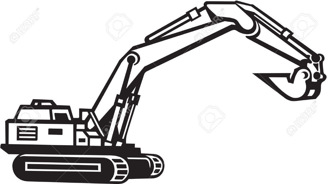 1300x731 Construction Equipment Clipart Black And White Amp Construction