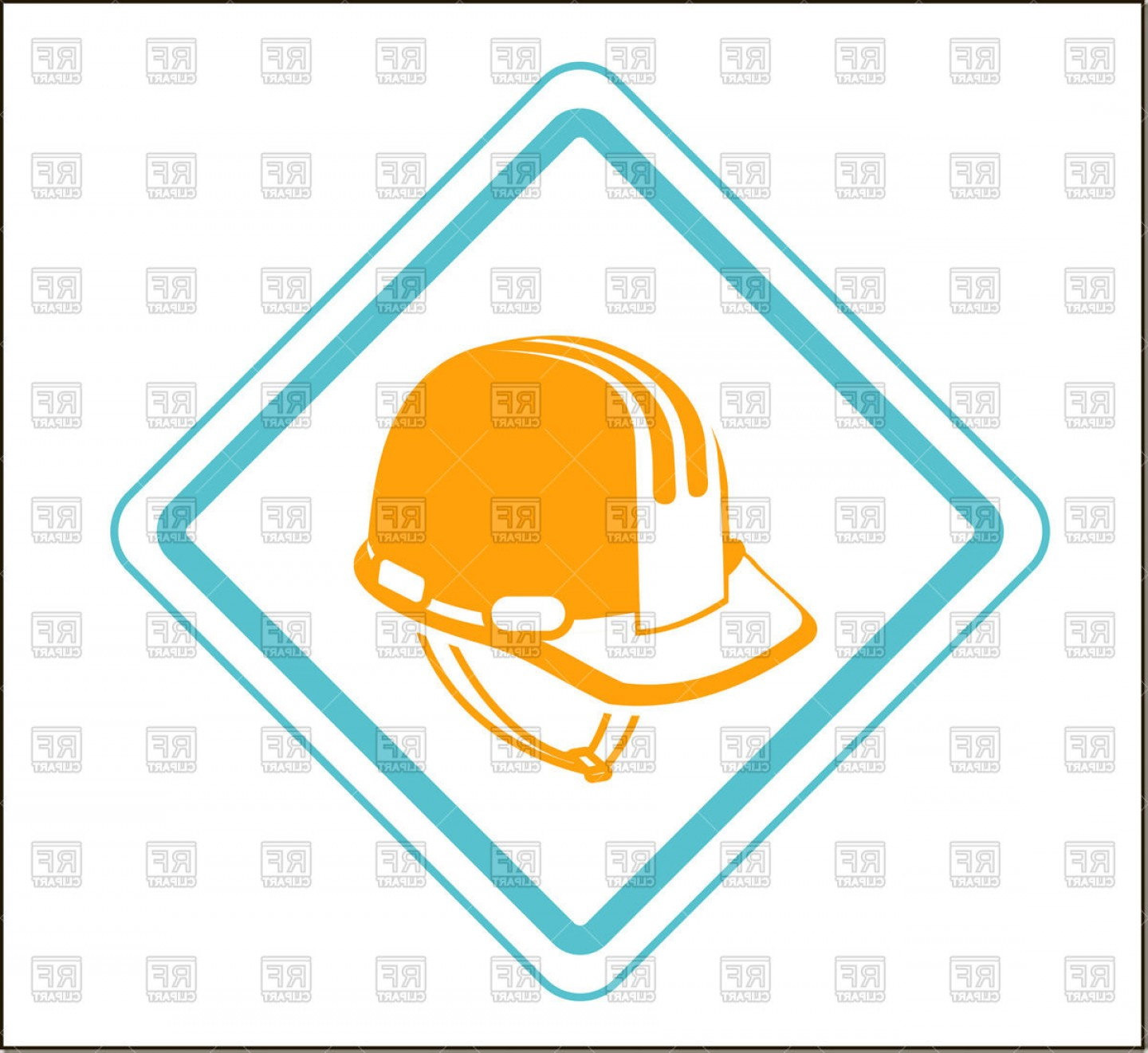 1440x1321 Concept Of Safety Work Construction Helmet Icon Hard Hat Vector