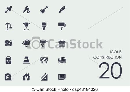 450x319 Set Of Construction Icons. Construction Vector Set Of Modern