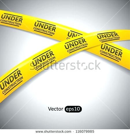 450x468 Under Construction Tape Set Of Black And Yellow Seamless Caution