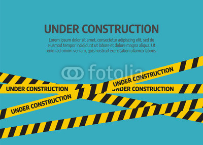 400x286 Under Construction Website Page. Under Construction Tape Warning