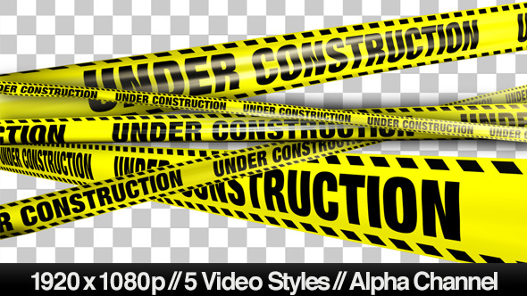 590x332 Yellow Under Construction Boundry Tape