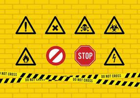 286x200 Caution Tape Free Vector Art