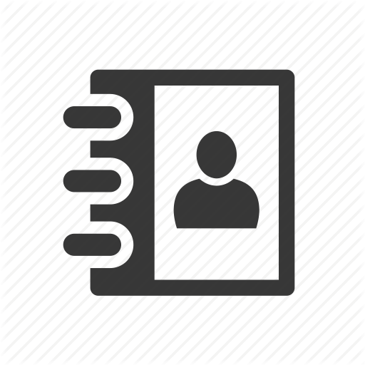 512x512 Address Book, Contacts Icon