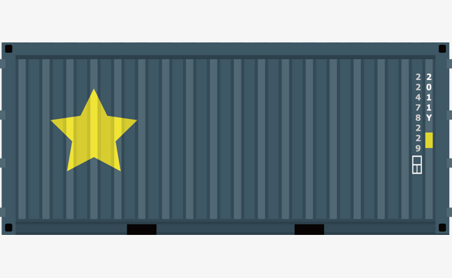 650x400 Container Png Vector Material, Container, Goods, Ocean Shipping