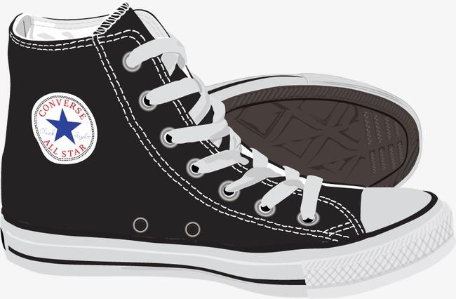 650x426 Vector Painted Converse Shoes, Shoes Vector, Cloth Shoes, Shoe Png